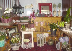 The shop at Bayfield Hall, Norfolk